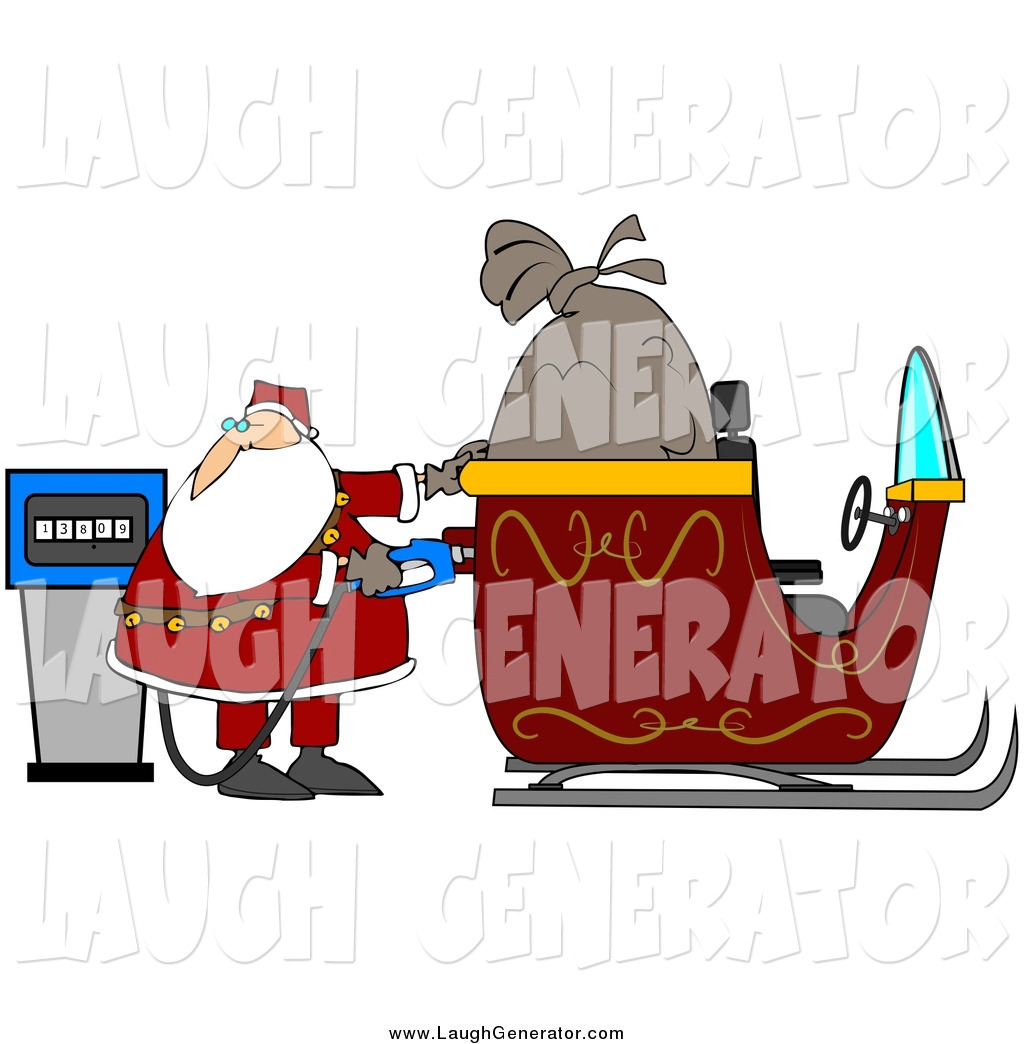 Royalty free stock humor designs of saint nicholas